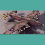 Click to see information about the 'Handley Page Halifax BIII (for 3D Studio Max)'.