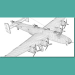 Handley Page Halifax BIII (for 3D Studio Max)
