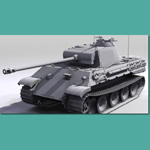 Panzer V Ausf A (for 3D Studio Max)