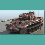 Click to see information about the 'Panzer V Ausf A (for 3D Studio Max)'.