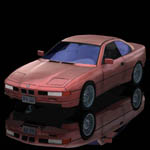 Click to see information about the 'BMW 850 I (for Poser)'.