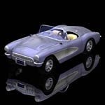 Click to see information about the 'Chevrolet Corvette (for Poser)'.