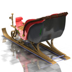 Sleigh (for Poser)