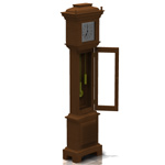 Grandfather Clock (for Poser)
