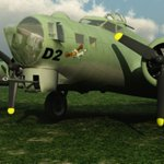 Click to see information about the 'B-17G Flying Fortress (for Vue)'.