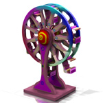 Click to see information about the 'Toy Wheel (for Poser)'.