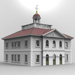 Ionic Building (for 3D Studio Max)