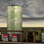 Diesel Pumpstation (for Poser)
