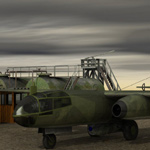 Arado AR 234 (for Poser)
