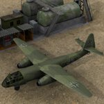 Click to see information about the 'Arado AR 234 (for Poser)'.