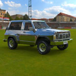 Click to see information about the 'Nissan Patrol GR (for 3D Studio Max)'.