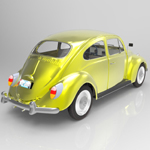 Volkswagen Beetle (for 3D Studio Max)