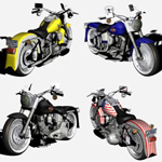 Motorcycle Pack 1 (for Poser)