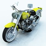 Click to see information about the 'Harley Davidson FLSTF Fatboy (for Vue)'.