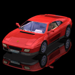 Click to see information about the 'Ferrari 348T (for Poser)'.