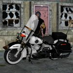 Harley Davidson Police Motorcycle (for Poser)