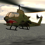 AH-1 Cobra Helicopter (for Poser)