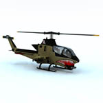 Click to see information about the 'AH-1 Cobra Helicopter (for Vue)'.