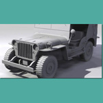 Jeep Willys M715 (for 3D Studio Max)
