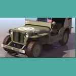 Click to see information about the 'Jeep Willys M715 (for 3D Studio Max)'.
