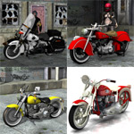 Click to see information about the 'Motorcycle Pack 1 (for Poser)'.