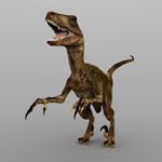 Deynonichus (for Wavefront OBJ)
