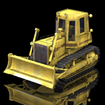 Bulldozer FD14 E (for Poser)