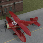 Beechcraft G17S Staggerwing (for Poser)