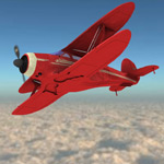 Click to see information about the 'Beechcraft G17S Staggerwing (for Poser)'.