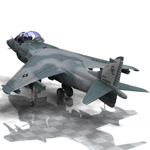 Harrier AV-813 (for Poser)