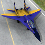 Click to see information about the 'MIG 29 A (for Poser)'.