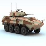 Click to see information about the 'LAV 25 Piranha (for Vue)'.