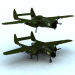 Click to see information about the 'Northrop P 61A (for Vue)'.