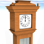 Grandfather Clock (for Vue)