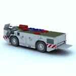 US Navy Carrier Fire Tractor (for Vue)