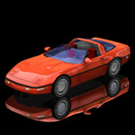 Click to see information about the 'Corvette ZR 1 (for Poser)'.