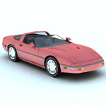 Click to see information about the 'Corvette ZR 1 (for Vue)'.