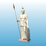 Athena Statue (for Poser)