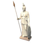 Click to see information about the 'Athena Statue (for Poser)'.