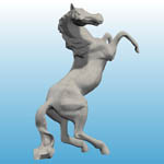 Horse Statue (for Poser)