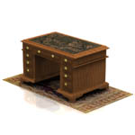 English Writing Desk (for Poser)