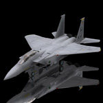 Click to see information about the 'F 15E Strike Eagle (for Poser)'.