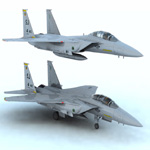 Click to see information about the 'F 15E Strike Eagle (for Vue)'.