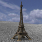 Eiffel Tower (for Poser)