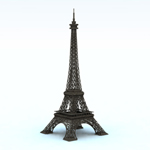 Click to see information about the 'Eiffel Tower (for Vue)'.
