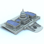 Click to see information about the 'US Capitol (for Vue)'.