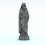 Italian Virgin Statue (for Vue)
