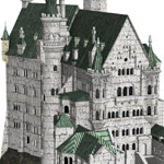 Neuschwanstein Castle (for Poser)