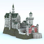 Click to see information about the 'Neuschwanstein Castle (for Vue)'.
