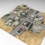 Desert Town (for DAZ Studio)